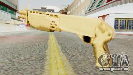 SPAS 12 SA Style pour GTA San Andreas deuxième écran