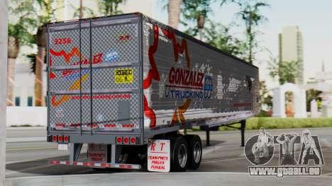 International ProStar Trailer pour GTA San Andreas laissé vue