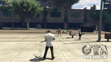 GTA 5 Bodyguard Menu 1.7 neuvième capture d'écran