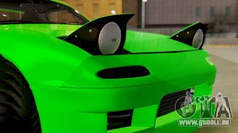 Mazda MX-5 BnSports pour GTA San Andreas vue de côté