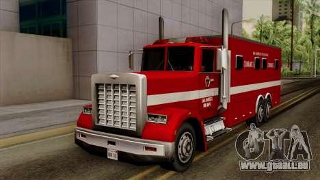 FDSA Mobile Command Post Truck für GTA San Andreas