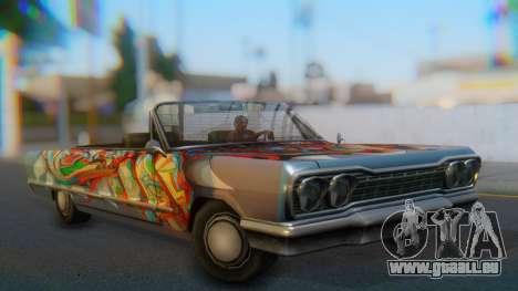 Savanna New PJ für GTA San Andreas linke Ansicht