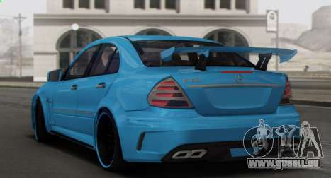 Mercedes-Benz E63 Qart Tuning für GTA San Andreas Motor