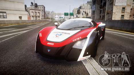 Marussia B2 2012 Jules pour GTA 4