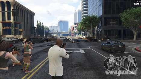 GTA 5 Bodyguard Menu 1.7 cinquième capture d'écran