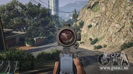 GTA 5 Carabine Bulldog cinquième capture d'écran