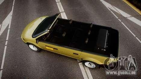 Schyster Cabby LX pour GTA 4 est un droit