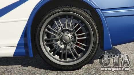 BMW M3 GTR E46 Most Wanted v1.3 für GTA 5