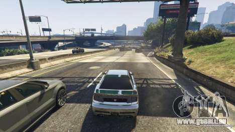 GTA 5 Piège mortel sur l'autoroute quatrième capture d'écran