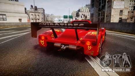 Radical SR8 RX 2011 [16] für GTA 4 hinten links Ansicht