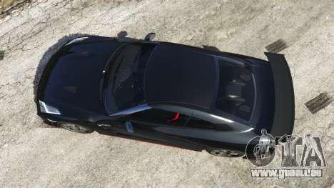 GTA 5 Nissan GT-R Nismo 2015 vue arrière