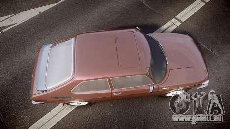 Saab 99 Turbo pour GTA 4 est un droit