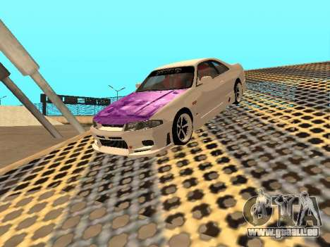 Nissan Skyline R33 Drift Monster Energy JDM pour GTA San Andreas moteur