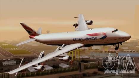 Boeing 747 British für GTA San Andreas