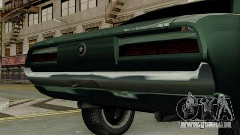 Patriot Vegas G20 pour GTA San Andreas vue arrière