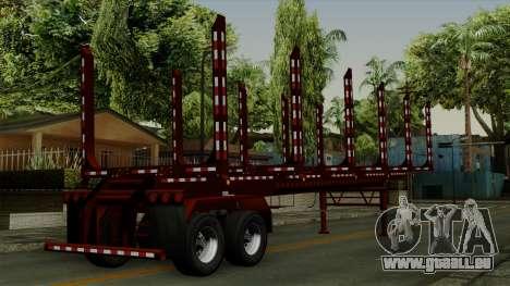 Trailer Log v1 pour GTA San Andreas laissé vue