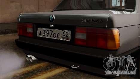BMW 325i pour GTA San Andreas vue arrière