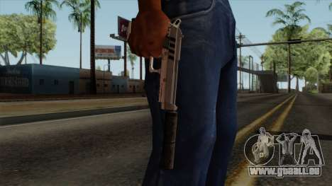 Original HD Silenced Pistol pour GTA San Andreas troisième écran