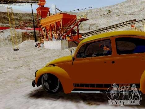Volkswagen Beetle 1975 Jeans Edition Custom für GTA San Andreas