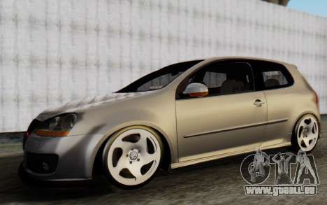 Volkswagen Golf Mk5 pour GTA San Andreas