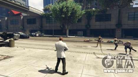 GTA 5 Bodyguard Menu 1.7 achten Screenshot