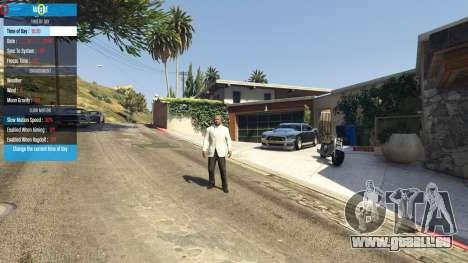 GTA 5 QF Mod Menu 0.3 sixième capture d'écran