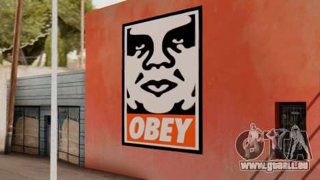 OBEY Graffiti für GTA San Andreas