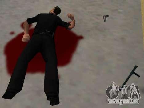 Weapons on the Ground pour GTA San Andreas deuxième écran