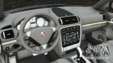 GTA 5 Porsche Cayenne Turbo S 2009 v0.5 [Beta] arrière droit vue de côté