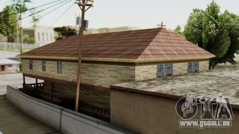 Le nouvel intérieur de la maison de CJ pour GTA San Andreas troisième écran