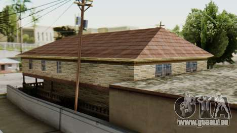 Das neue Interieur des CJ Haus für GTA San Andreas dritten Screenshot