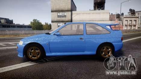 Ford Escort RS Cosworth pour GTA 4 est une gauche