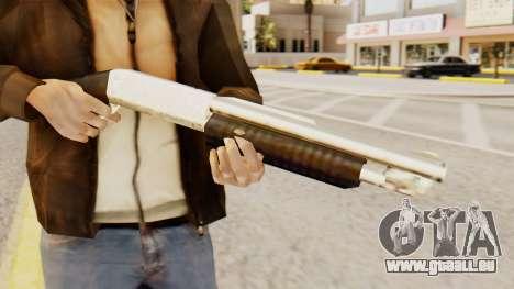 Bluten original-pump-action-Schrotflinte für GTA San Andreas dritten Screenshot