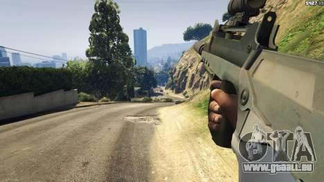 GTA 5 Battlefield 4 Famas septième capture d'écran