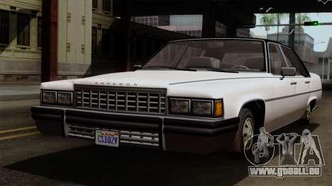 GTA 5 Albany Emperor pour GTA San Andreas