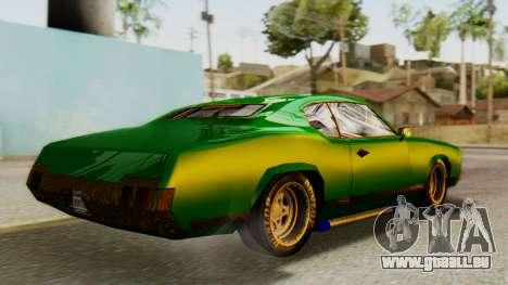 New Sabre Devil pour GTA San Andreas laissé vue