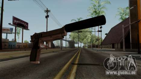 Original HD Silenced Pistol für GTA San Andreas