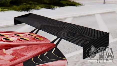 Pegassi Zentorno SM GT3 pour GTA San Andreas vue de droite