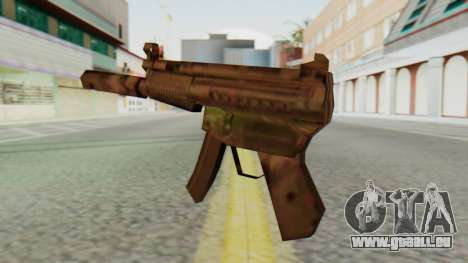 MP5K Silenced SA Style für GTA San Andreas zweiten Screenshot