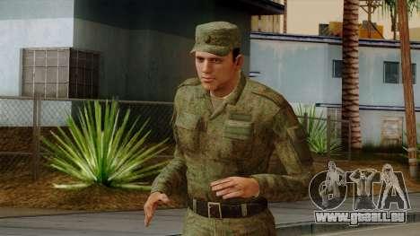 L'ordinaire de la russie moderne de l'armée pour GTA San Andreas