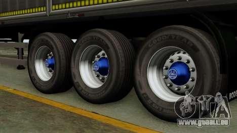 Bodex_TZ pour GTA San Andreas sur la vue arrière gauche