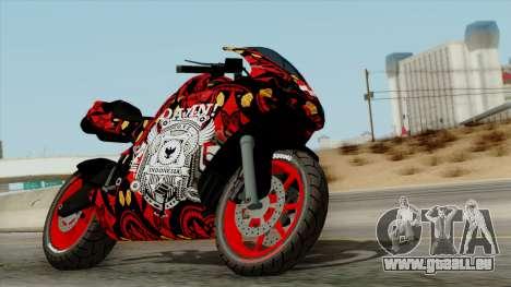 Bati Batik Motorcycle v2 für GTA San Andreas