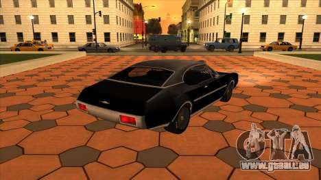 Muscle-Clover [BETA V.1] für GTA San Andreas linke Ansicht