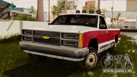 Chevrolet Silverado SA Stil für GTA San Andreas