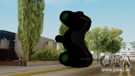 Original HD Thermal Goggles pour GTA San Andreas troisième écran