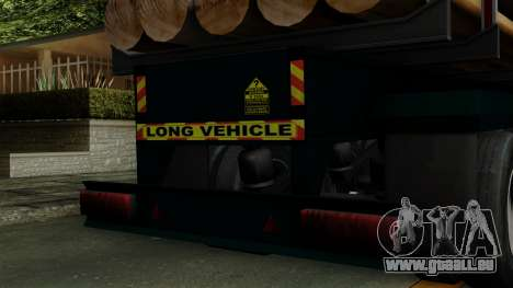 Trailer Log v2 für GTA San Andreas Rückansicht