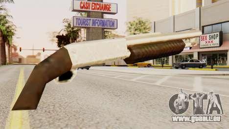 Bluten original-pump-action-Schrotflinte für GTA San Andreas zweiten Screenshot