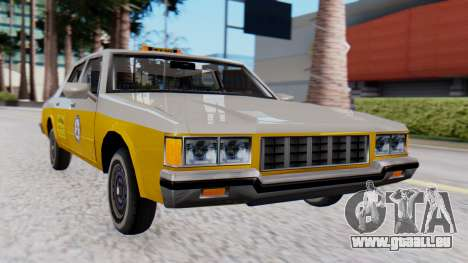 Chevrolet Caprice 1980 SA Style Cab pour GTA San Andreas