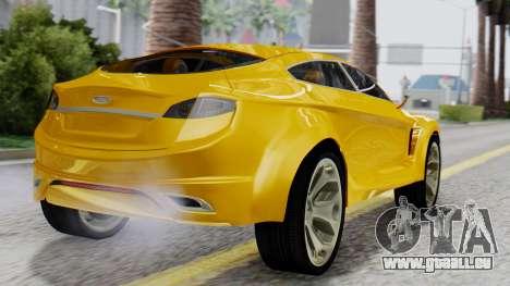Ford Iosis für GTA San Andreas linke Ansicht