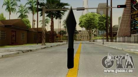 Wurfmesser für GTA San Andreas